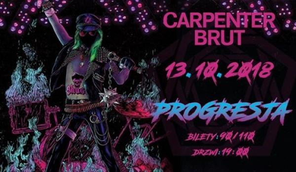 Going.   Carpenter Brut - support: GosT - Progresja