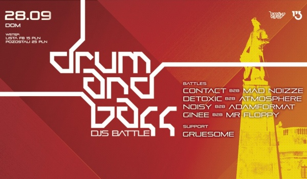 Going. | DNB DJs Battle - DOM Łódź