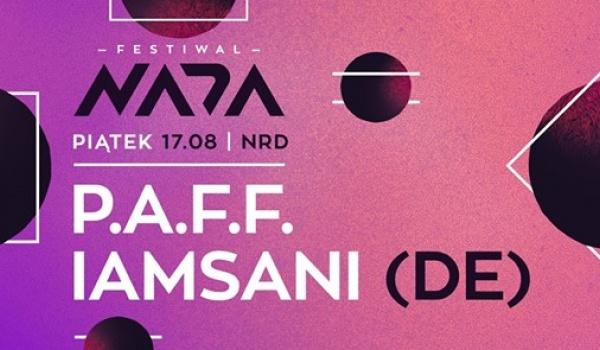 Going.   PAFF x I A M S A N I (Festiwal NADA) - NRD Klub