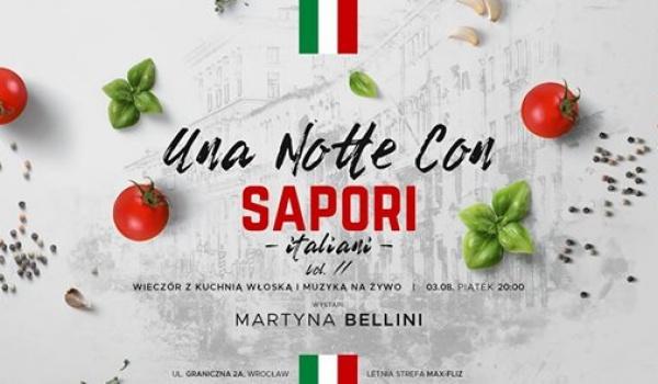 Una Notte Con Sapori Italiani Kuchnia Włoska I Muzyka Na