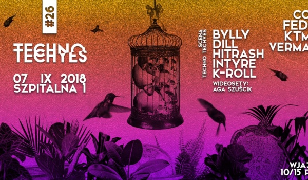 Going. | TECHNO TECHYES #26 w/ BYLLY + Personality Disorder stage - Szpitalna 1