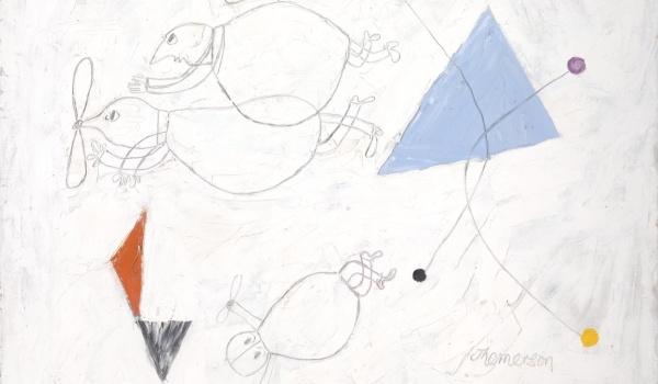 Going. | Sztukmistrzynie: Franciszka Themerson - opowieść obrazkowa - Klubokawiarnia Meskalina