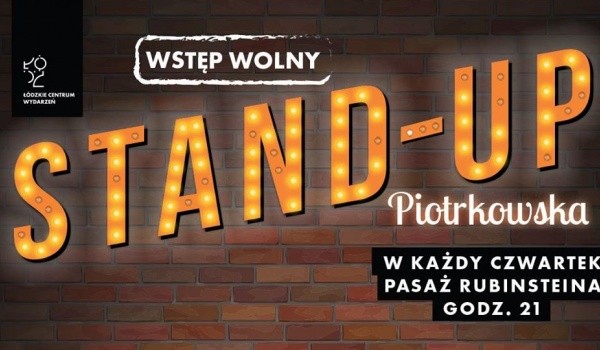 Going. | Stand- up Piotrkowska: Cezary Jurkiewicz - Pasaż Rubinsteina