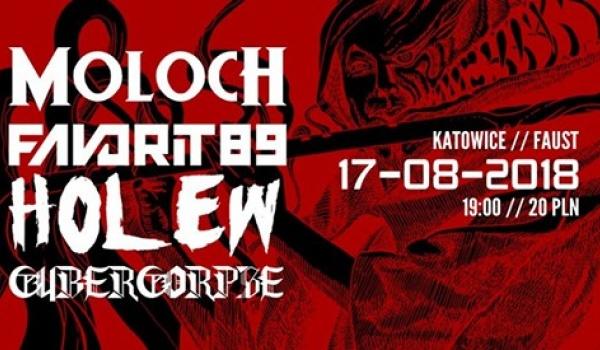 Going. | Moloch, Favorit89, Holew, Cybercorpse / 17.08.2018 / Katowice - Klub Muzyczny Faust