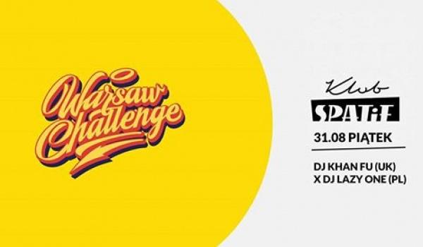 Going. | Before Party Warsaw Challenge x Khan Fu x Lazy One - Klub SPATiF