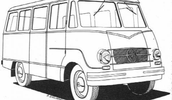 Going. | Pojazdy użytkowe PRL - Walcownia