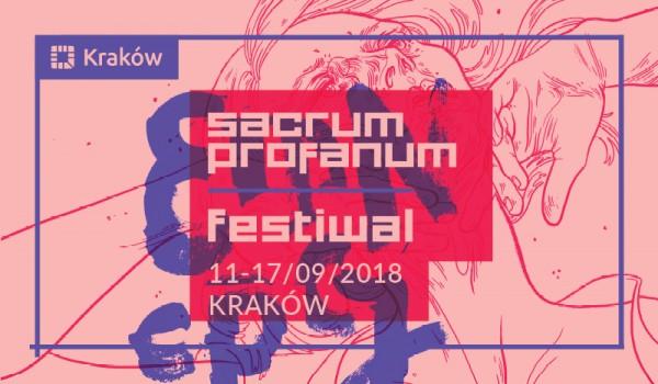 Going. | Actions / Sacrum Profanum 2018 - Muzeum Inżynierii Miejskiej
