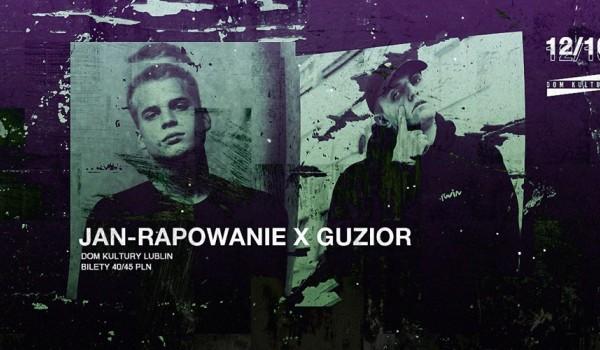 Going. | Guzior x Jan-Rapowanie w Lublinie (Koncerty Premierowe) - Dom Kultury Lublin