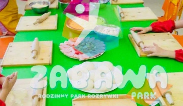 Going. | Dziecięce warsztaty z pizzy - Zabawa Park •Rodzinny Park Rozrywki•
