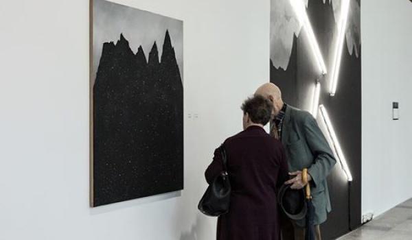 """Going.   Cykliczne spacery po wystawie """"Widmo Brockenu"""" - BWA Wrocław"""