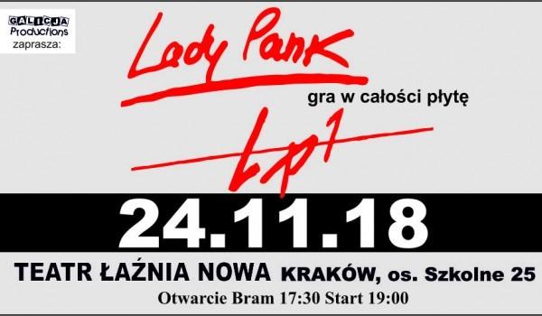Going. | Lady Pank gra w całości płytę LP1 - Teatr Łaźnia Nowa