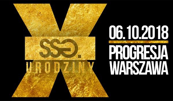 Going. | X urodziny SSG - Progresja