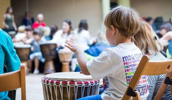Going. | Bębny afrykańskie dla dzieci - cotygodniowe warsztaty - Pracownia Bębnów Mariusz Raźny