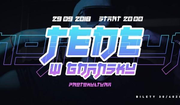 Going. | TEDE w Gdańsku - NOJI Tour - Protokultura - Klub Sztuki Alternatywnej
