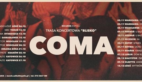 Going. | COMA / Blisko - Klub Muzyczny Ucho