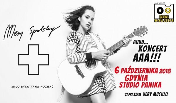 Going. | Mery Spolsky / Gdynia - zaprasza Studio Panika i Radio Wihajster - Studio Panika