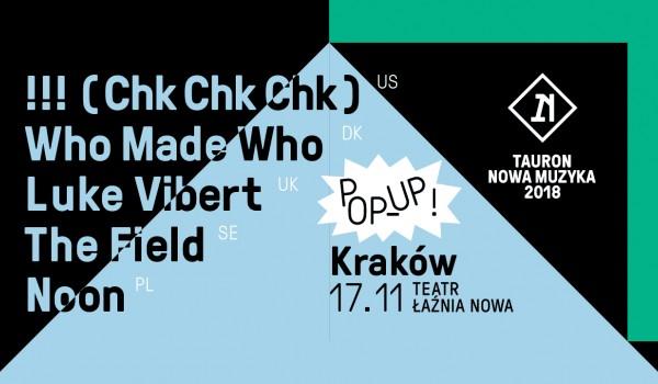 Going. | Tauron Nowa Muzyka Pop-Up w Krakowie! - Teatr Łaźnia Nowa