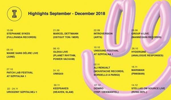 Going.   Patchlab Festival & Szpitalna 1 Presents Surprise! - Szpitalna 1