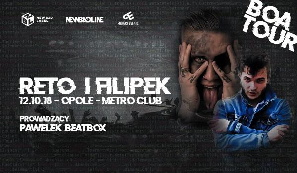 Going. | ReTo x Filipek / Opole / Metro Club - Metro Club