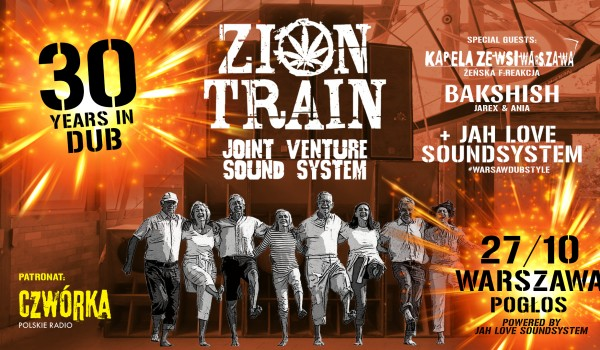Going. | ZION TRAIN SOUND SYSTEM & JOINT VENTURE SOUND SYSTEM: 30 YEARS IN DUB! - Pogłos