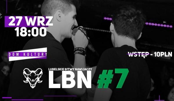 Going. | LBN #7 - Freestyle Rap Battle - Dom Kultury Lublin