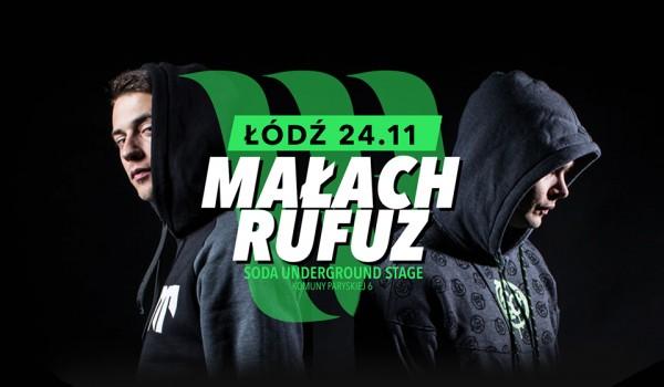 Going. | MAŁACH & RUFUZ w Łodzi | Koncert premierowy - SODA Underground Stage