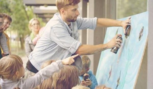 Going. | Warsztaty Graffiti dla dzieci - Park Tarnogajski