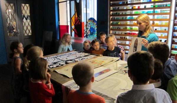 Going. | Jesienne warsztaty dla dzieci w Muzeum Witrażu - Muzeum Witrażu