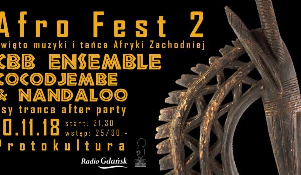 Going. | Afro fest 2 - CBB Ensemble, Cocodjembe & Nandaloo - Protokultura - Klub Sztuki Alternatywnej