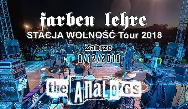 Going. | Farben Lehre / the Analogs / Ereles - Klub CK Wiatrak