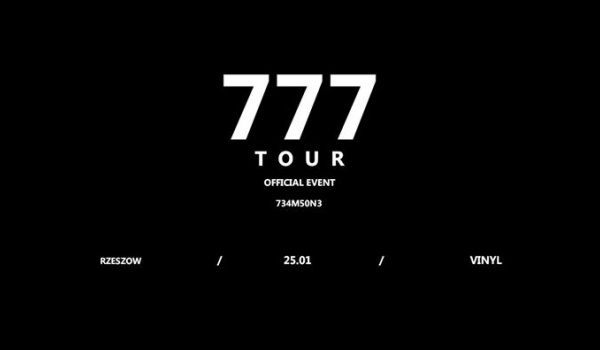 Going. | Zeamsone / 777 TOUR - Klub Vinyl