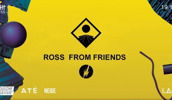 Going. | Ross From Friends Live - Projekt LAB