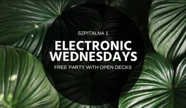 Going.   Electronic Wednesdays   Electro, House & Techno Edition - Szpitalna 1