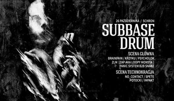 Going. | Subbase Drum: Brainpain I Krzyku / Scena Technokracji - Schron