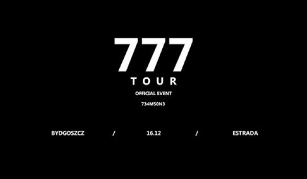 Going. | Zeamsone / 777 TOUR - Estrada Stagebar