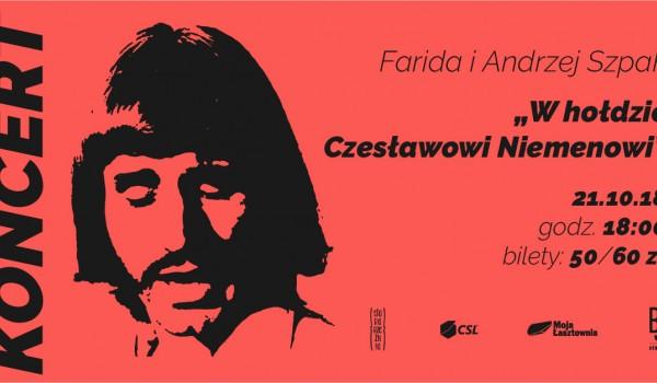 Going. | Koncert Farida i Andrzej Szpak - w hołdzie Czesławowi Niemenowi - Stara Rzeźnia