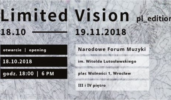 Going. | Limited Vision pl_edition - Narodowe Forum Muzyki