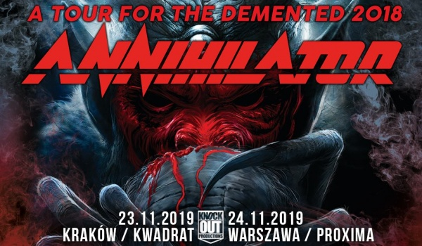 Going. | Annihilator - Klub Kwadrat
