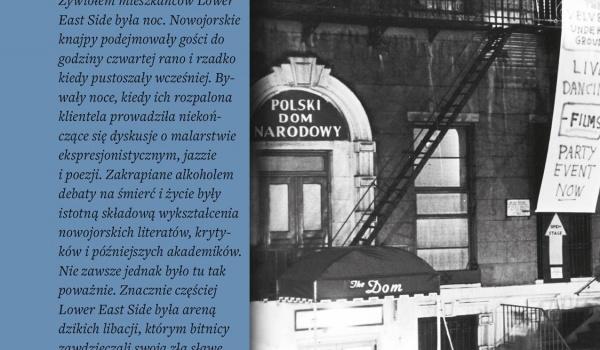 Going. | The Dom. Nowojorska bohema - spotkanie z autorem książki - DOM Łódź