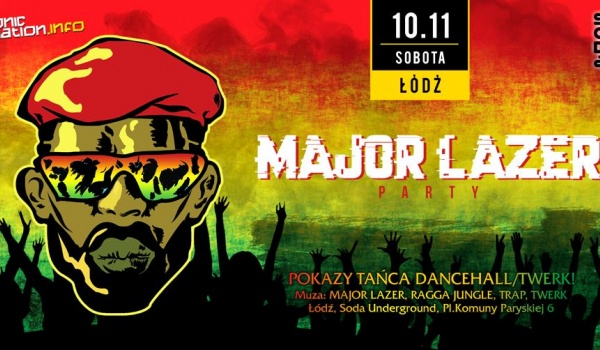 Going. | MAJOR LAZER Party + Ragga Jungle DNB - SODA Underground Stage