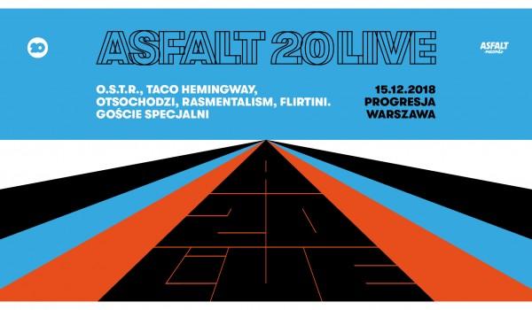 Going. | SOLD OUT / Asfalt 20 live - Progresja