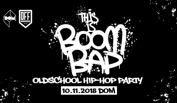 Going. | This is Boom Bap - Oldschool Hip-Hop Party - DOM Łódź