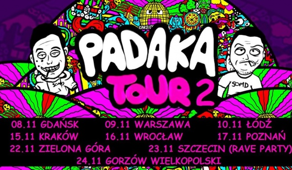 Going. | Rzabka / Padaka Tour 2 (+ Doktor Ziom) - Żarty Żartami
