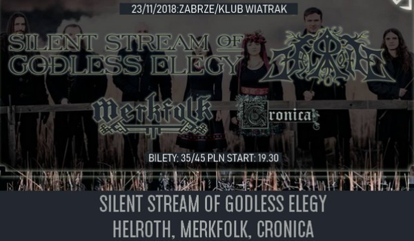 Going. | Silent Stream of Godless Elegy, Helroth, Merkfolk, Cronica [ODWOŁANY] - Klub CK Wiatrak