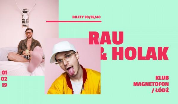 Going. | ZMIANA DATY i MIEJSCA | RAU i Holak w Łodzi! / Magnetofon - SODA Underground Stage