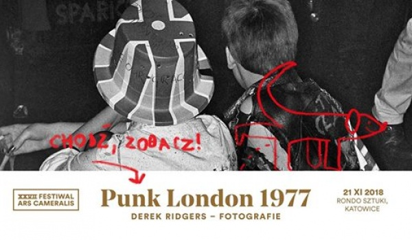 Going. | Derek Ridgers - Punk London 1977 // Ars Cameralis 2018 - Rondo Sztuki