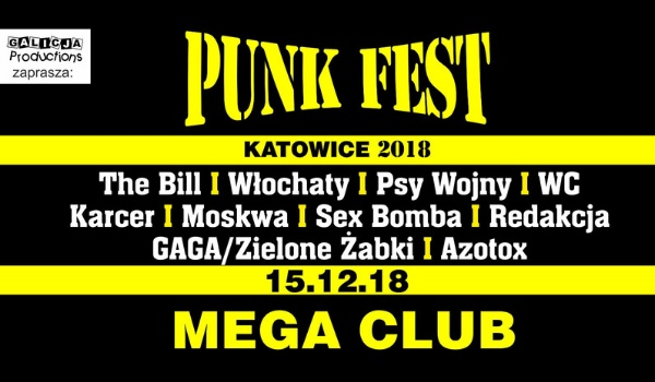 Going. | Punk Fest | Katowice - MegaClub