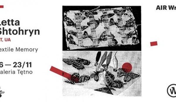 Going. | Letta Shtohryn: Textile Memory - Galeria Sztuki Tętno