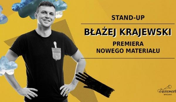 Going.   Stand-up: Błażej Krajewski z nowym materiałem - Art_Inkubator