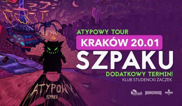 Going. | SOLD OUT / Szpaku w Krakowie - Klub Studencki Żaczek